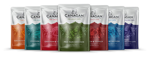 Canagan Multipack Cat Pouches x 8