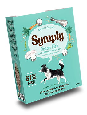 Symply Ocean Fish with Brown Rice For Adult Dogs (7 Trays)
