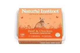 Natural Instinct Cat Beef & Chicken