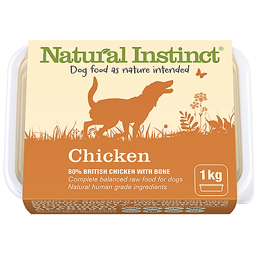 Natural Instinct Chicken Raw Dog Food