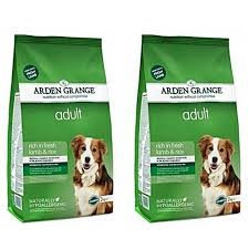 Arden Grange Adult Lamb and Rice Dry Dog Food 12kg