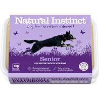 Natural Instinct Senior Raw Dog Food