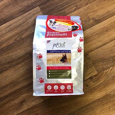 Pet Deli Salmon and Potato Dry Dog Food - 15kg