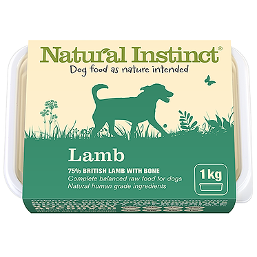 Natural Instinct Lamb Raw Dog Food