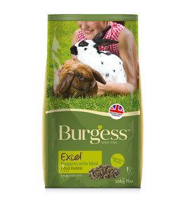Burgess Excel Rabbit Food 10kg