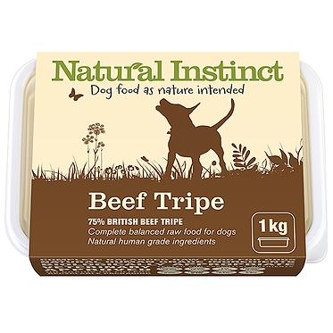 Natural Instinct Beef Tripe Raw Dog Food