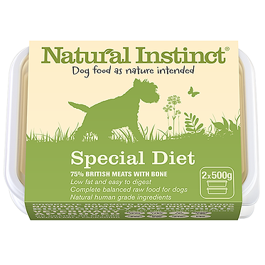 Natural Instinct Special Diet Raw Dog Food