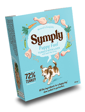Symply Puppy Fuel Turkey & Liver (7 Trays)