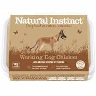 Working Dog Natural Instinct Chicken Raw Dog Food