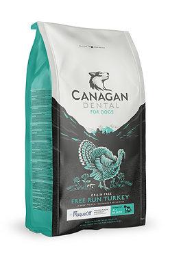Canagan Dental Turkey Dry Dog Food 12kg