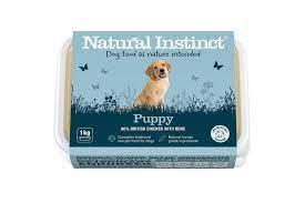 Natural Instinct Puppy Raw Dog Food
