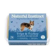 Natural Instinct Tripe and Turkey Raw Dog Food
