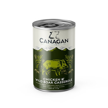 Canagan Chicken and Wild Boar Dog Food Cans x 6