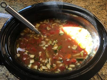 Yummy Fall Vegetable Barley Soup