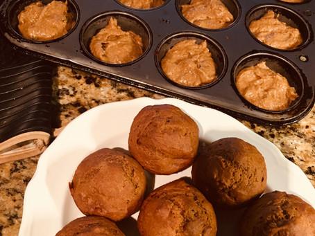 Fall Pumpkin Spice Muffins