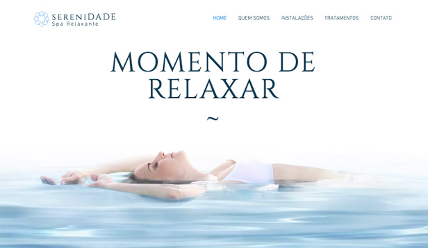 Mais Usados website templates – O spa
