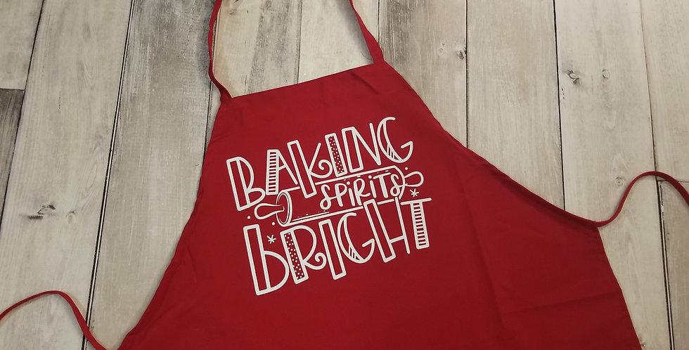 Baking Spirits Bright Apron