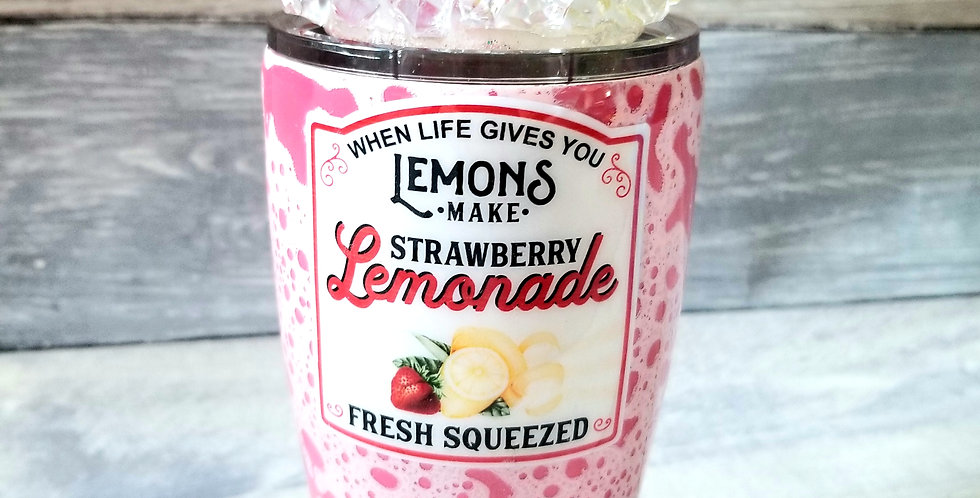 Strawberry Lemonade Tumbler