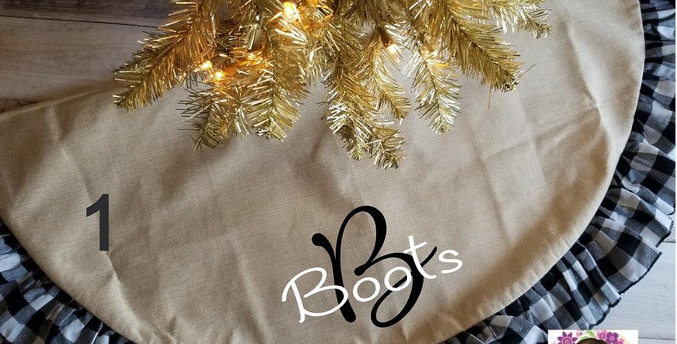 Family Name Tree Skirt