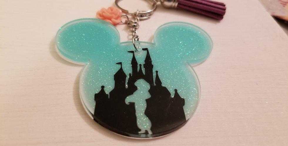 Jasmine Mouse Keychain