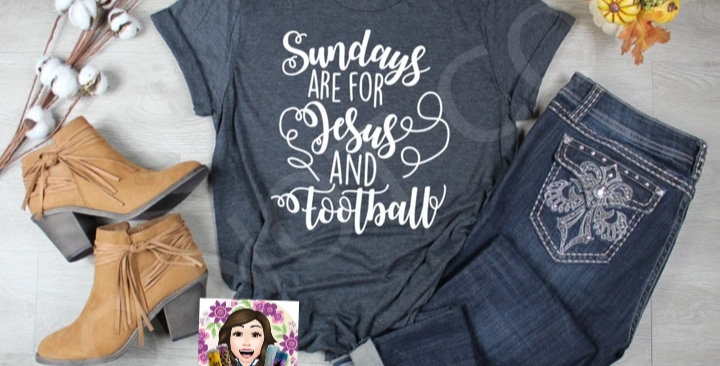Sundays Are For Jesus & Football