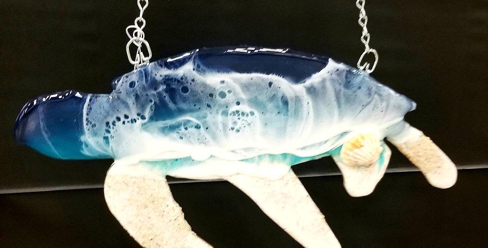Custom Hanging Ocean Turtle