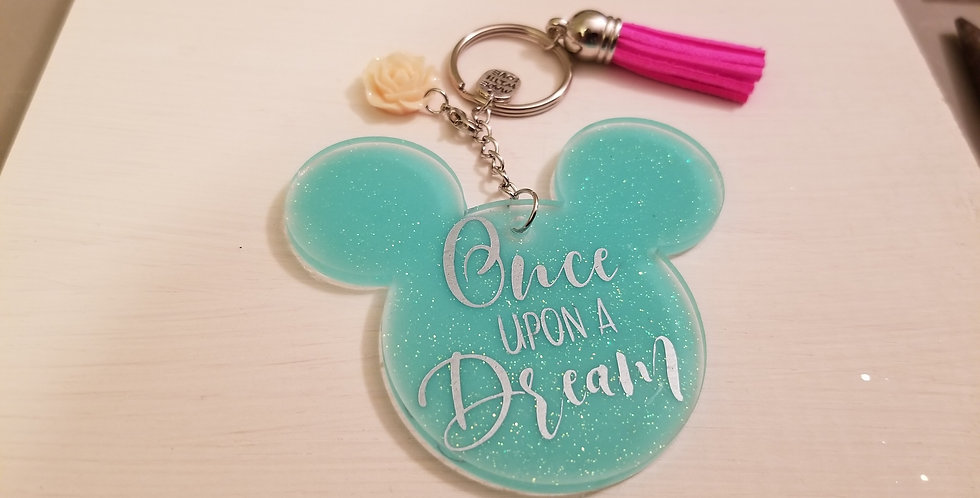 Once Upon A Dream Keychain
