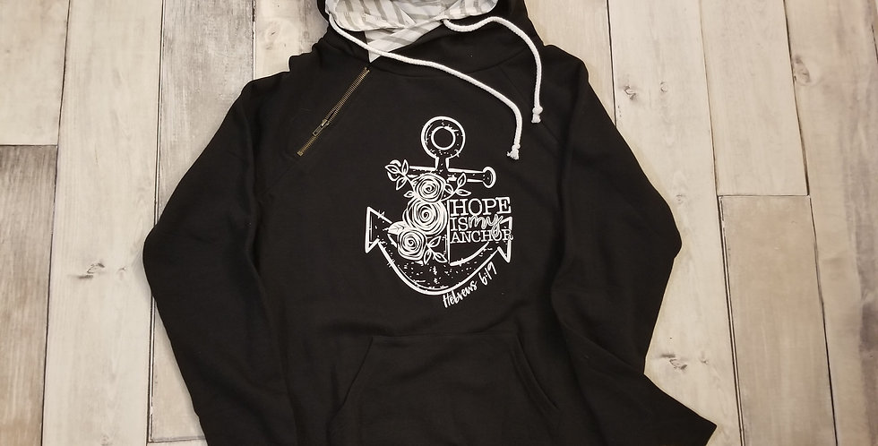 Hope Is An Anchor Double Hoodie