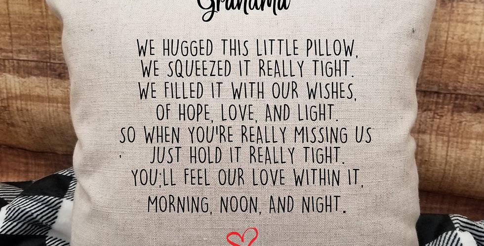 Grandparent Pillow Cover