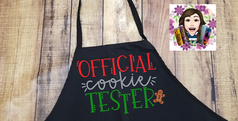 Offical Cookie Tester Apron