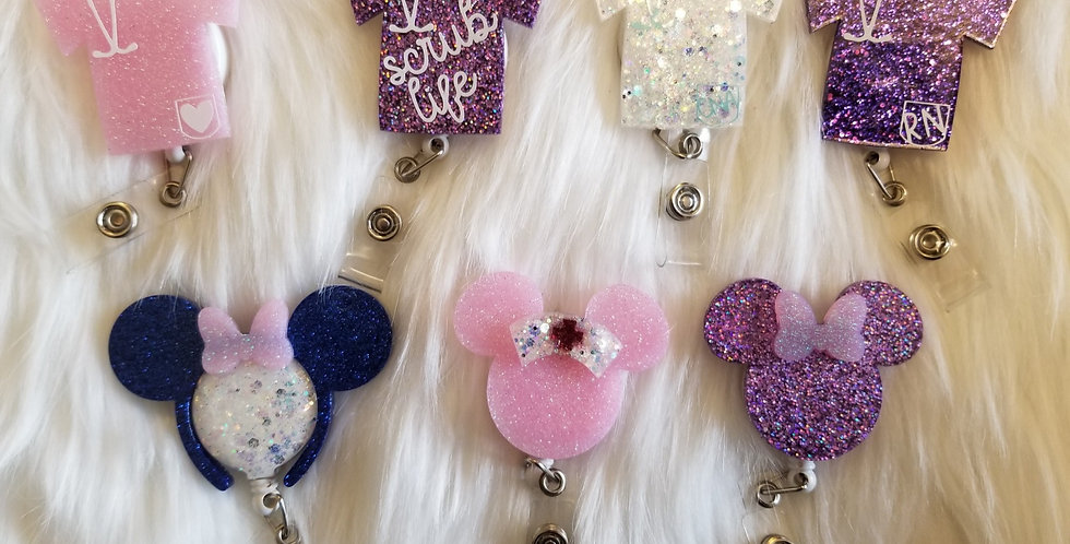 The Mouse Badge Reel
