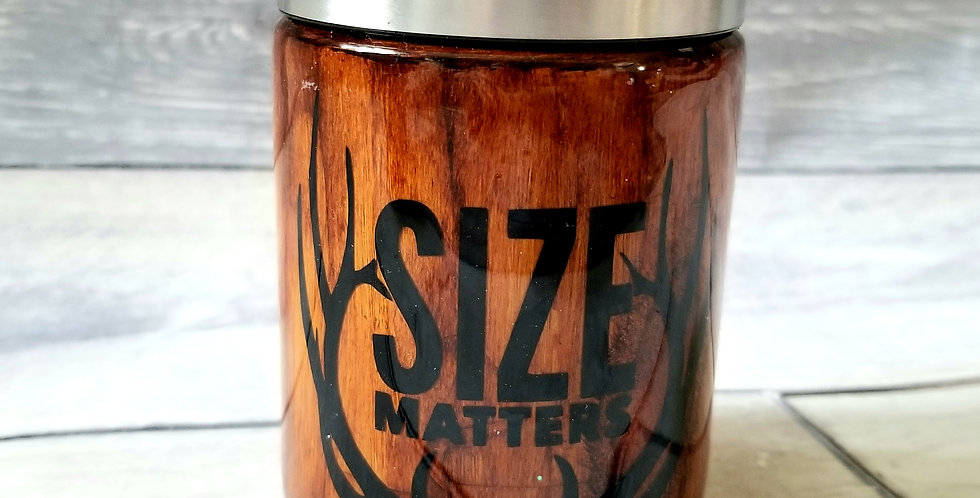 Size Matters Can Koozie