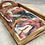 Thumbnail: Navy and Pink Marble Serving Tray