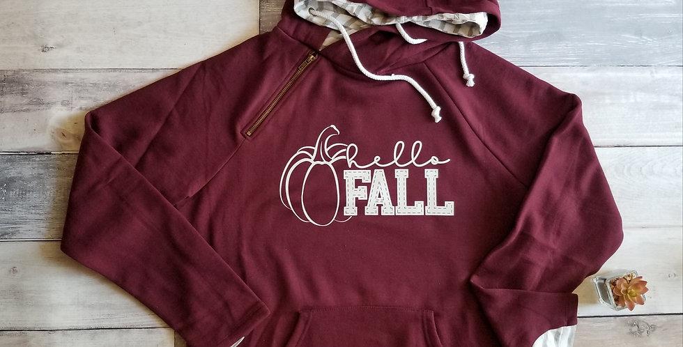 Hello Fall Double Hoodie