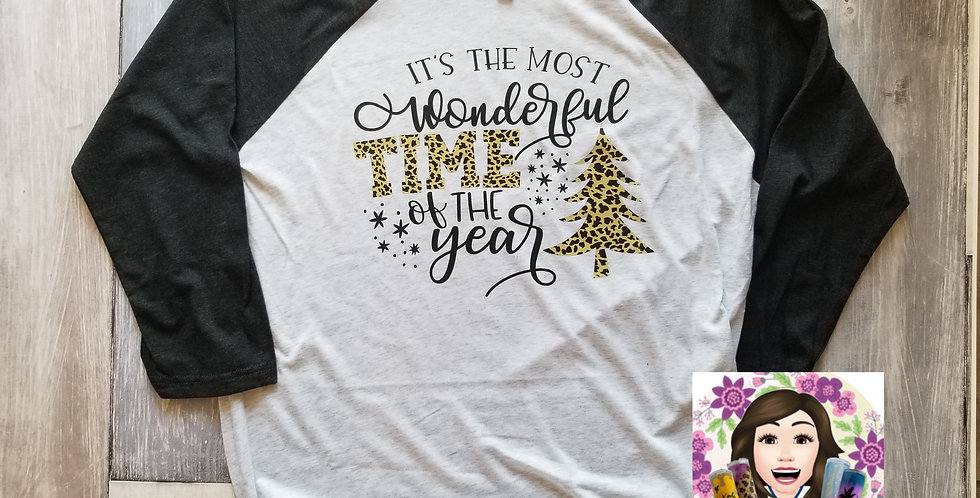 Most Wonderful Time Of The Year Raglan