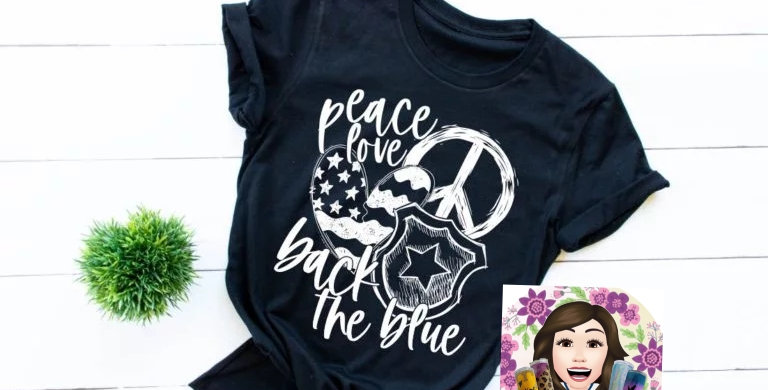 Peace, Love, Back the Blue