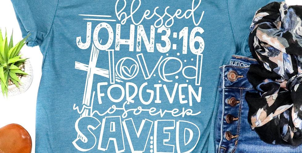 Blessed John 3:16 Tee