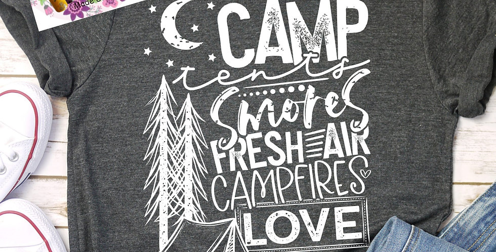 Camp, Smores, Love