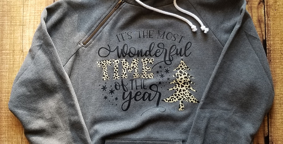 It's The Most Wonderful Time Double Hoodie
