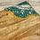 Thumbnail: Teal/Gold Charcuterie Board