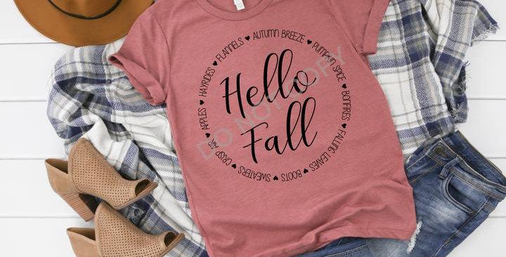 Hello Fall Favorite Things