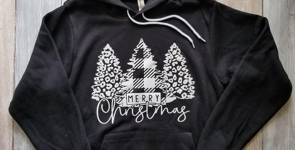 Merry Christmas Trees Hoodie