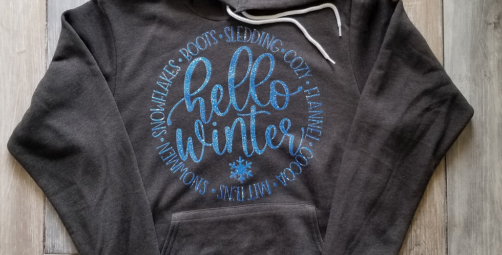 Hello Winter Sweatshirt