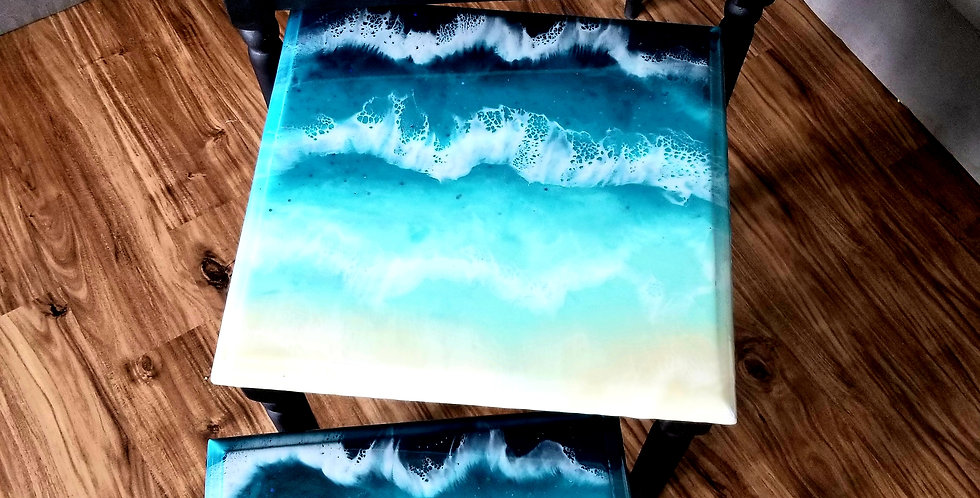 Custom Ocean Nesting tables