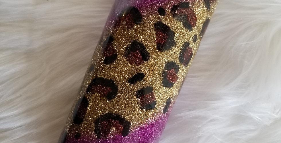 Purple Leopard Swirl