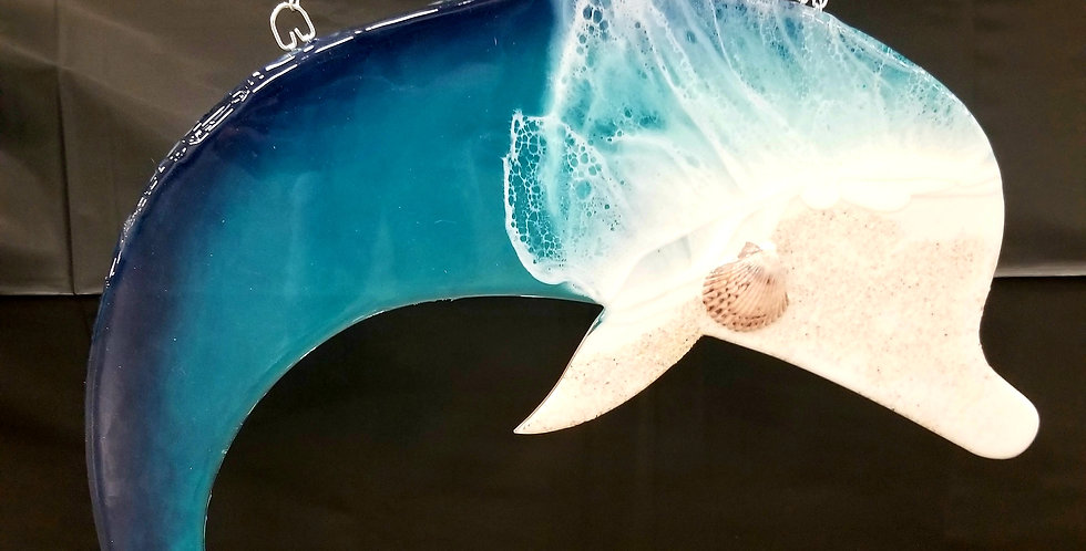 Custom Hanging Ocean Dolphin