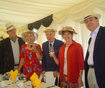 Social = Posh Do in a Marquee 2003