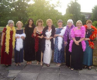 VE-day celebration girls 2005
