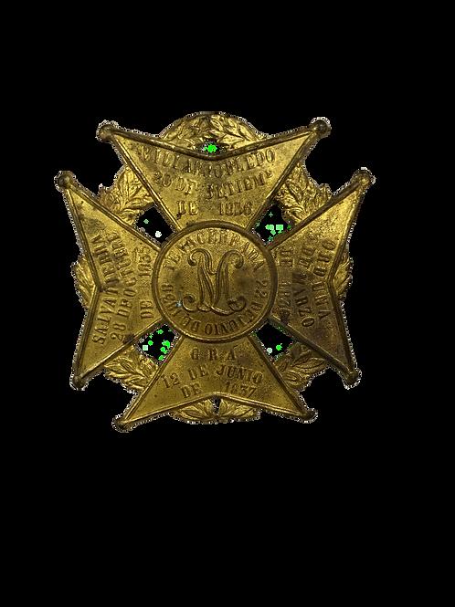 Escudo de la Reina María de España