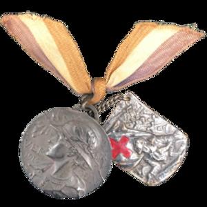 Medalla de los Glorioses Defensores de Verdun